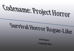 codenameHorror Design Documents