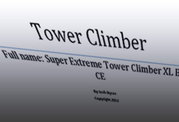 towerClimber Design Documents