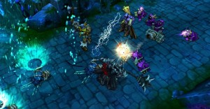 League of Legends 300x156 The Negative Feedback Loop of Last Hitting Game Design