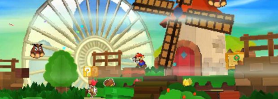 Screenshot 1 560x200 Paper Mario: Sticker Star Saga   Stucked