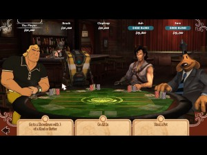 PokerNight 1 300x225 Poker Night 2: *Insert Gambling Pun Here