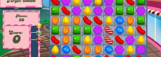 CandyCrushSagaCnet 560x200 Can Game Design Be Appraised?