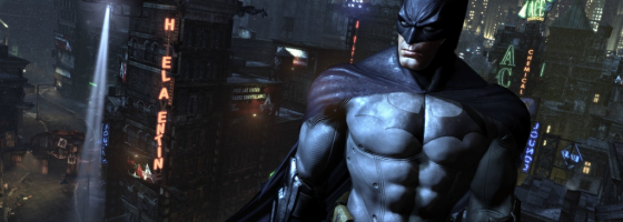 BatmanGameInformer 560x200 Five Favorite Open Worlds #5   Batman: Arkham City