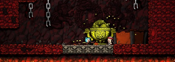 Spelunky 560x200 Procedural vs. Randomly Generated Content in Game Design