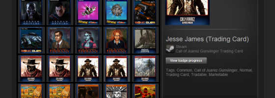 SteamTradingCards 560x200 Mistakes Indie Game Designers Make: Sales and Selling