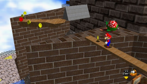 SuperMario64Wikipedia 300x172 How Mechanics Dictate Video Game Pacing