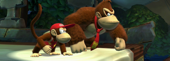 DKCTropicalFreezeGameInformer 560x200 Donkey Kong Country Tropical Freeze:  Hot Platformer