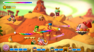 KirbyRainbowCurseTierraGamer 300x168 Kirby and the Rainbow Curse: Molded Experience
