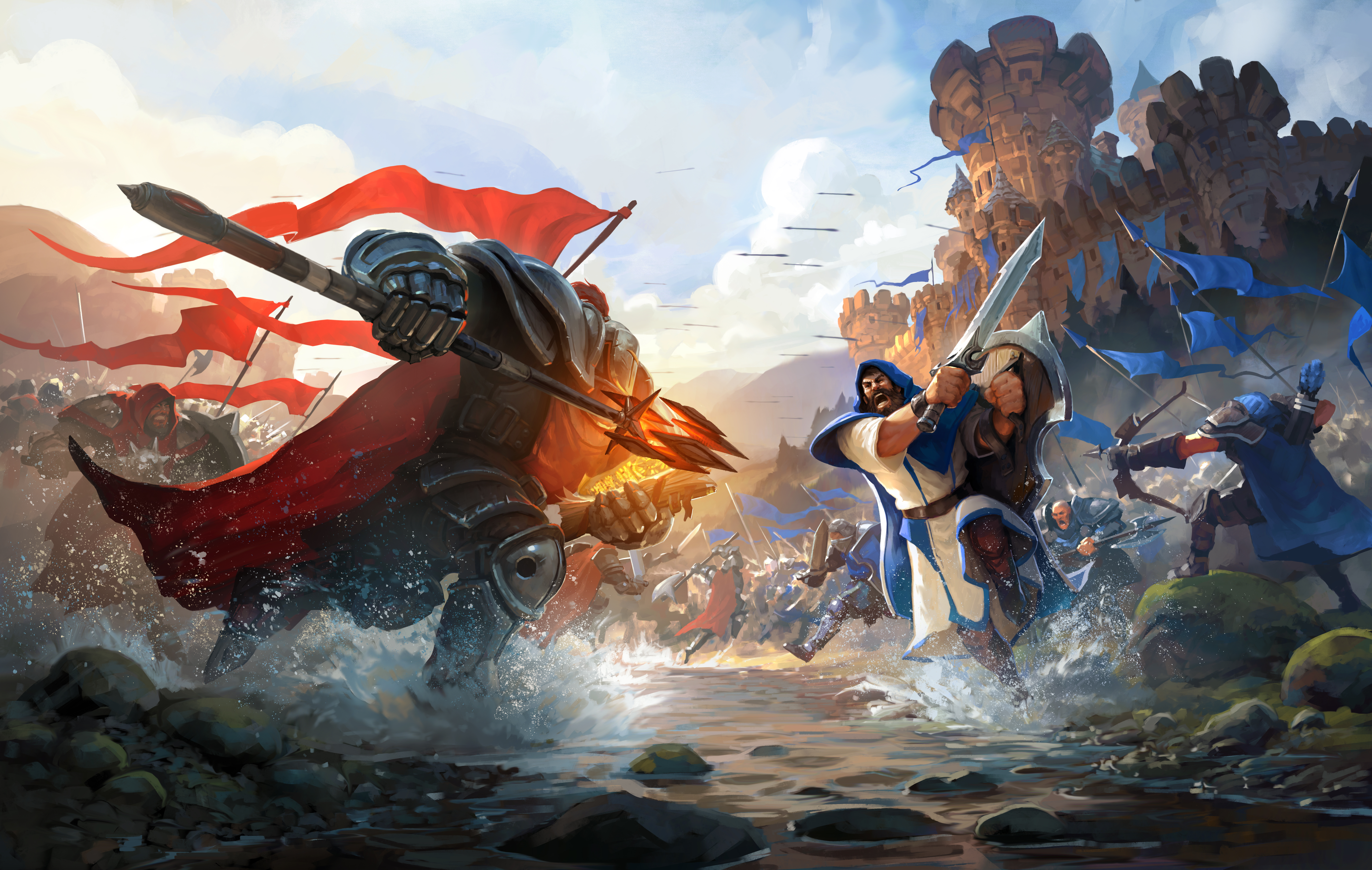 the challenges of cross platform support with albion online game