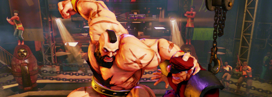 StreetFighter 5 Polygon