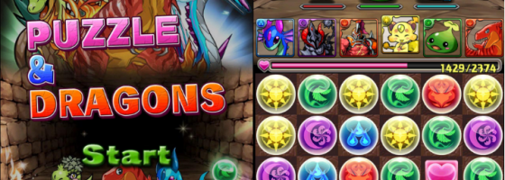 Puzzle and Dragons MMOs