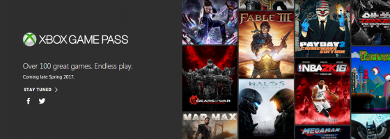 Xbox Games Pass 560x200 Could Xbox Game Pass be the Future of the Industry?