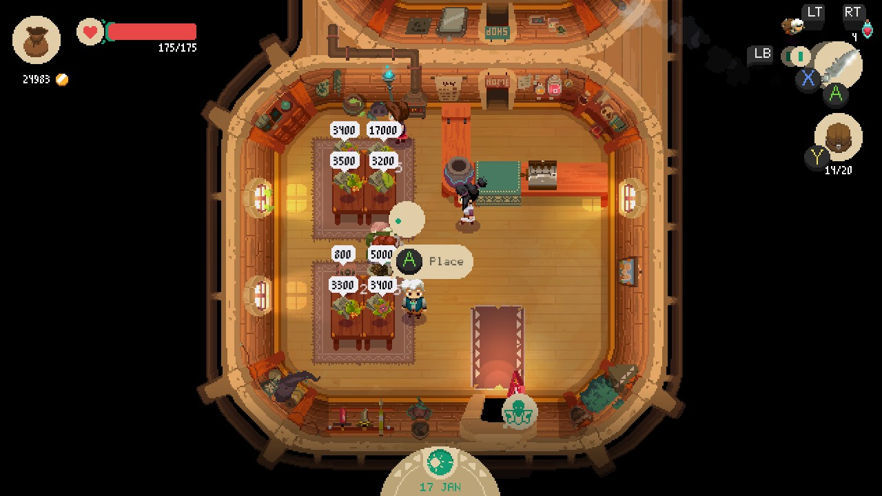 moonlighter how to use sword