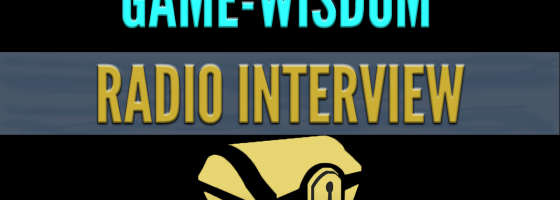 Radio Interview 560x200 The Growth of Game Wisdom Radio Interview